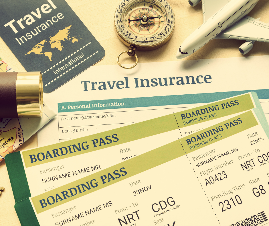 Don't leave home without travel insurance.